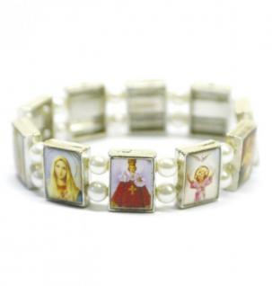 Armband mit Heiligenbilder 8 cm