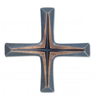 Schmuckkreuz aus Bronze 11 cm