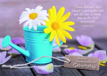 Postkarte Herzliche Glückwünsche zum Geburtstag (10 Stck)