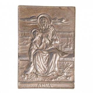 Namenstag Anna Anke Anette 8x6cm Bronzeplakette