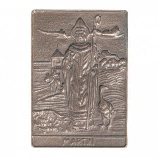 Namenstag Martin 8 x 6 cm Bronzeplakette