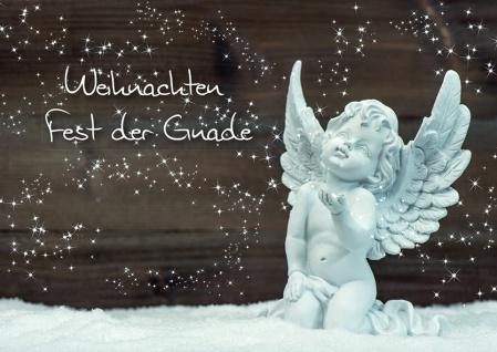 Weihnachtskarte Weihnachten Fest der Gnade (6 Stck)