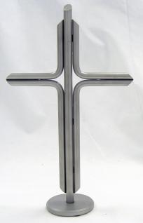 Stehkreuz aus Edelstahl, 25 x 15 cm