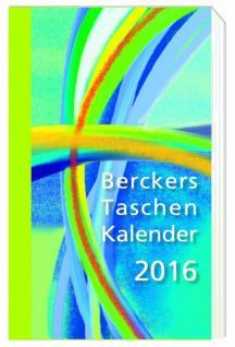 Berckers Taschenkalender 2016 - Vorschau