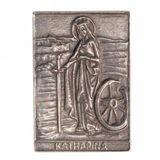 Namenstag Katharina 8 x 6 cm Bronzeplakette