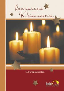 postkartenbuch besinnliche weihnachten 16 karten. Black Bedroom Furniture Sets. Home Design Ideas