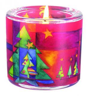 Glaswindlicht Weihnachten - Fest des Friedens