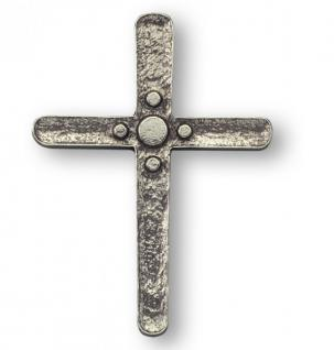 Schmuckkreuz aus Neusilber 14 cm Wandkreuz