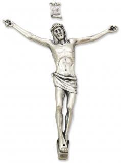 Corpus Jesus Christus mit INRI, oxydiert 15 cm