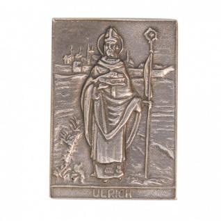 Namenstag Ulrich 8 x 6 cm Bronzeplakette