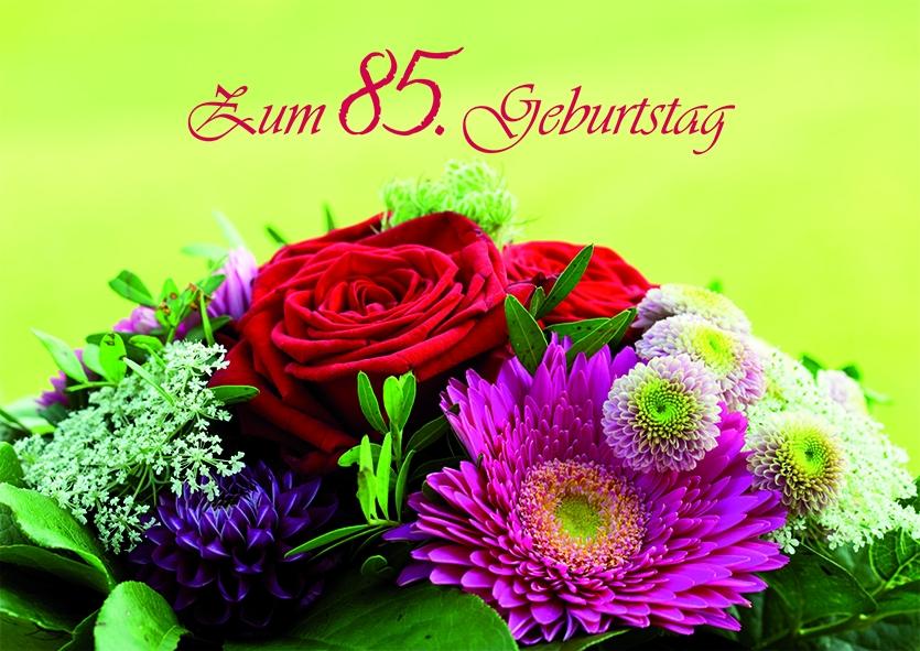 Geburtstagskarte zum 85 geburtstag 6 stck kaufen bei - Geschenke zum 85 geburtstag ...