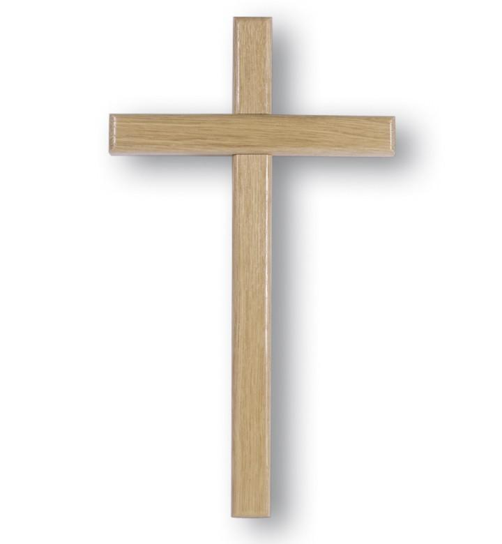 Holzkreuz kreuzbalken eiche gebeizt 35 cm kaufen bei for Eiche gebeizt