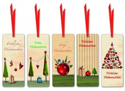 Geschenkanhänger Weihnachten 10 Stück