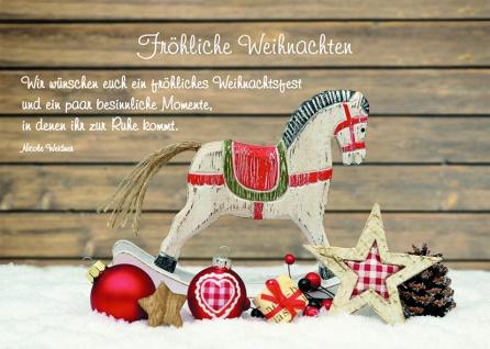 Postkarte Fröhliche Weihnachten (10 Stck)