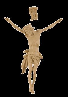 Corpus Jesus Christus mit INRI, hell 10 cm