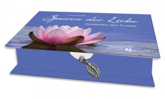 Geschenkbox mit 48 Karten, Spuren der Liebe, Trostgedanken