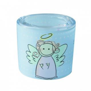 Glaswindlicht Ein Engel für dich! 6, 5 cm