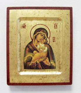 Ikone Mutter Gottes v.d.Freude des Jesukindes 16 x 20 cm