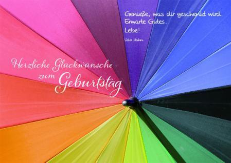 Geburtstagskarte Herzliche Glückwünsche zum... (10 Stck)