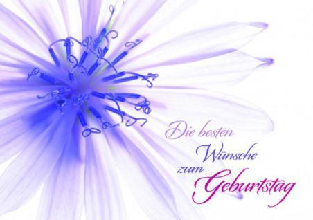 Geburtstagskarte Die besten Wünsche zum... (10 Stck)