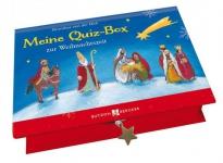 Geschenkbox mit 48 Quizkarten, Mein Quiz-Box zur Weihnachtszeit