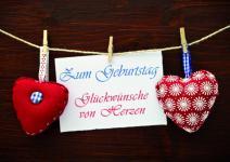 Geburtstagskarte Zum Geburtstag Glückwünsche.. (10 St.)