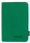Gotteslob-Buchhülle aus Filz, dunkelgrün, Reißverschluss