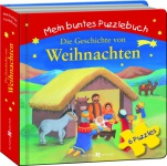 Mein buntes Puzzlebuch Die Geschichte von Weihnachten