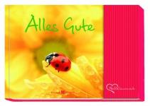 Geschenkbuch mit Tasche für Geldgeschenk Alles Gute
