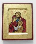 Ikone Heilige Familie 16 x 13 cm Griechenland