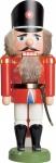 Nussknacker Polizist rot 35 cm Holz-Figur Handarbeit aus Seiffen im Erzgebirge