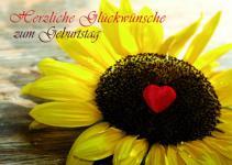 Geburtstagskarte Herzliche Glückwünsche zum.. (10 Stck)
