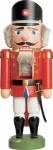 Nussknacker Polizist rot 25 cm Holz-Figur Handarbeit aus Seiffen im Erzgebirge