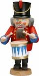 Nussknacker Trommler 31 cm Holz-Figur Handarbeit aus Seiffen im Erzgebirge