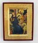 Ikone Anbetung der Heiligen 3 Könige 16 x 20 cm
