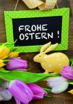 Osterkarte Frohe Ostern! (10 Stck)