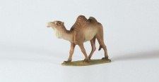 Tiroler Krippe Kamel, stehend bunt bemalt 12 cm
