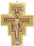 Holzkreuz Franziskus 16 x 12 cm