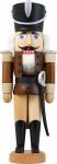 Nussknacker Husar Esche lasiert braun 28 cm Holz-Figur Handarbeit Erzgebirge