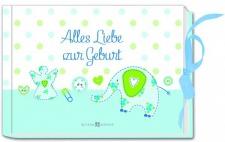 Geld-Geschenkbuch Alles Liebe zur Geburt, Jungs