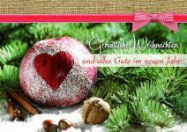 Weihnachtskarte mit Rezept, Gemütliche Weihnacht (6 Stck)