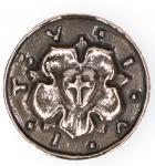 Handschmeichler Lutherrose Bronze 3, 3 cm