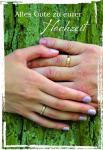 Hochzeitskarte Alles Gute zu eurer Hochzeit (6 Stck)