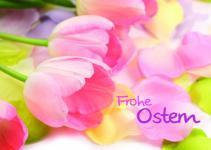 Osterkarte Frohe Ostern (10 Stck)