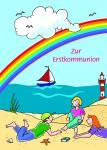 Kommunionkarte Geldgeschenk Zur Erstkommunion (6 Stck)
