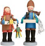 Traditionsfiguren Original Striezelkinder 15 cm Erzgebirge