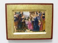 Ikone Anbetung der Hirten 16 x 20 cm Griechenland