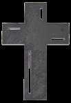 Wandkreuz Schiefer 23 x 15 cm