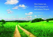 Postkarte Feldweg (10 Stck)