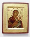 Ikone Mutter Gottes der Palecher Altgläubigenschule 16 x 20 cm